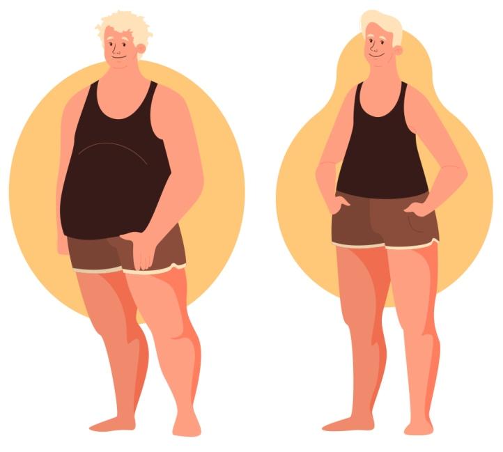 ожирение мужчин по типу яблоко груша